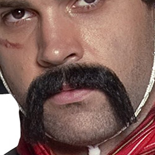 Bigote pelo sintético barba mexicano