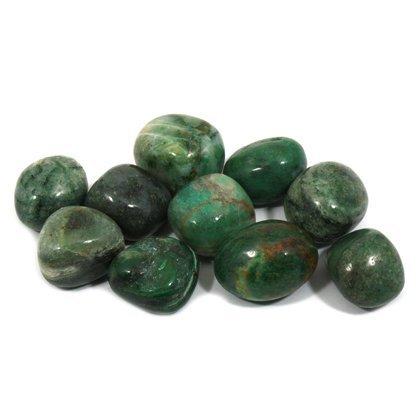 African jade tumble stone