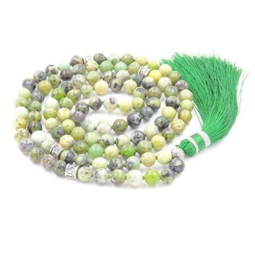 Gema mala beads collar/pulsera