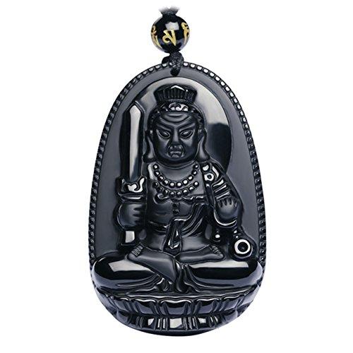Buddha pendant necklace bodhisattva amulet