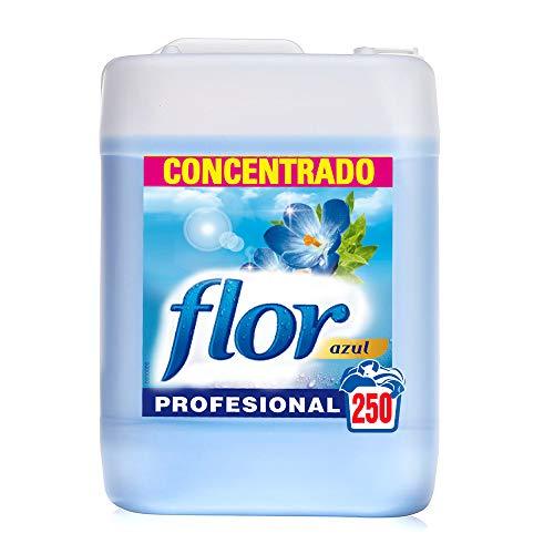 Suavizante para lavadora regular azul formato profesional