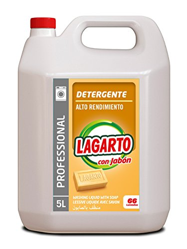 Detergente liquido lavadora profesional