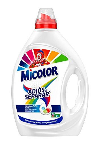 Detergente líquido adiós al separar