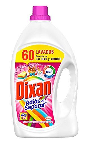 Detergente gel adiós al separar