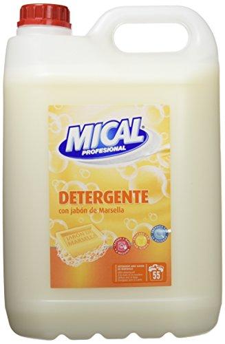 Detergente con jabón de marsella