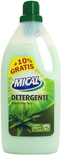 Detergente líquido con aloe vera