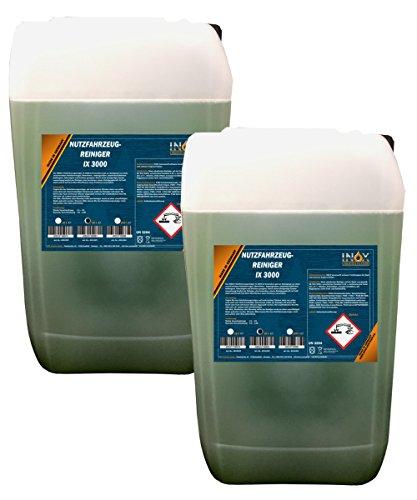 Inox vehículos industriales limpiador ix 3000 activo limpiador concentrado 2 x 25 l