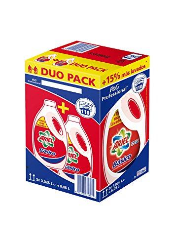 Detergente ariel basico líquido 110d
