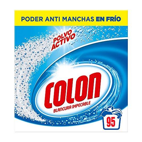 Detergente para lavadora de ropa en polvo activo 95 dosis