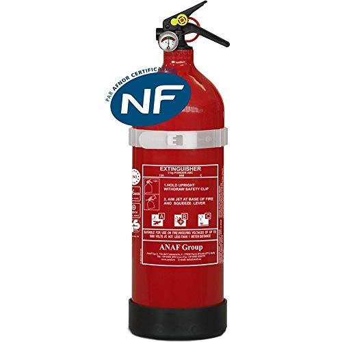 Abc extintor de polvo de 2 kg coche ideal moho nf