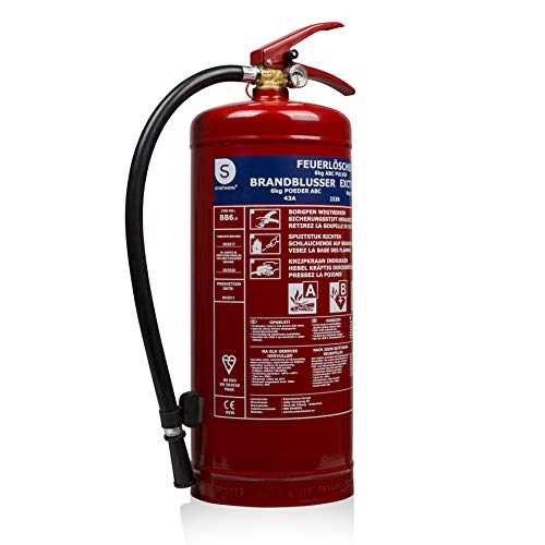 Extintor de fuego bb6