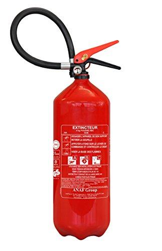 Extintor de incendios 6 kg abc nf & med polvo antioxidante