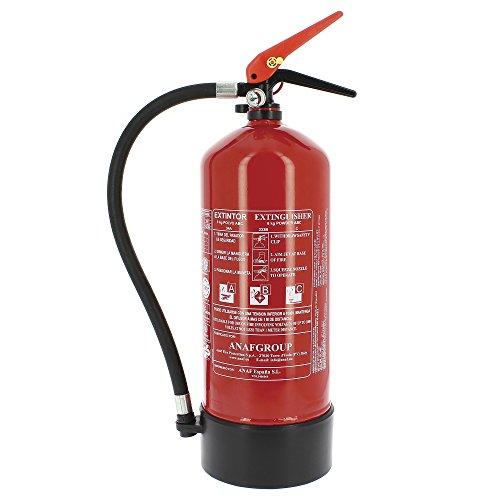 Extintor alta eficacia 6kg incluye soporte pared