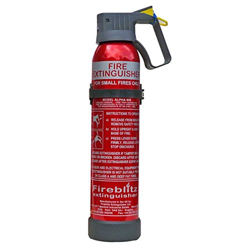 Fuego fuego extintor blitz alfa 600 ac en polvo 600g