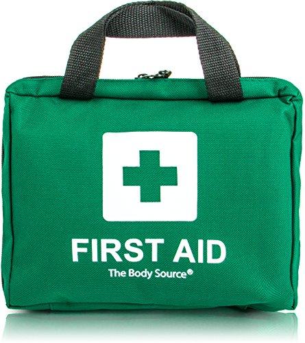 Botiquín de primeros auxilios de 90 artículos con bolsas de hielo