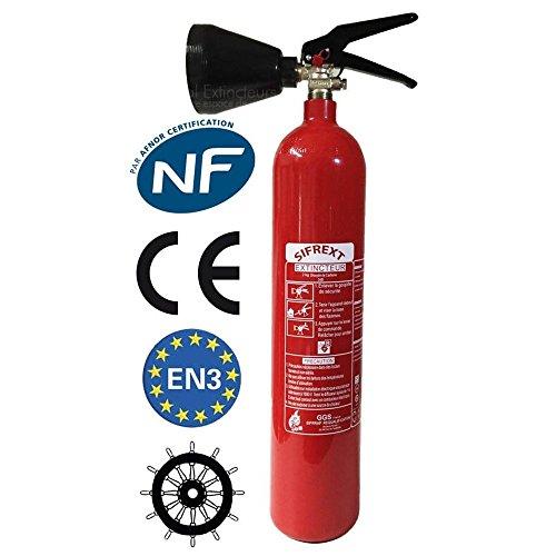 Extintor portátil co2