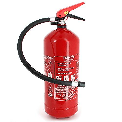 Extintor 6 kg de polvo con mayor eficacia 34a 233b c