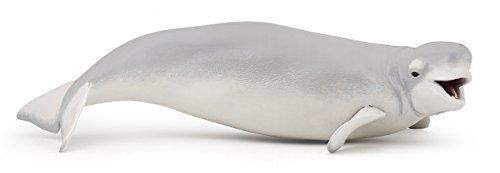 Figura de ballena beluga