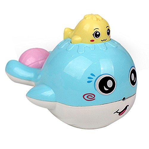 Juguetes para baño de los niños juguetes para baño del bebé pequeño juguete de ballena