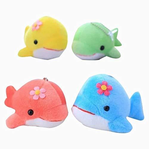 Xiton ballena peluche juguete lechón juguetes niños dormitorio peluches colgante 1pcs aleatoria color del coche