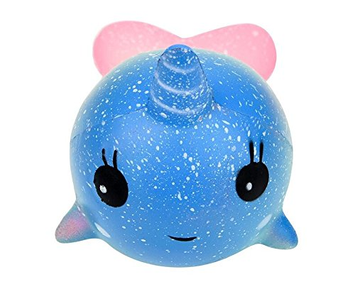 Squishy ballena doll espuma suave kawaii juguetes descompresión soft toy