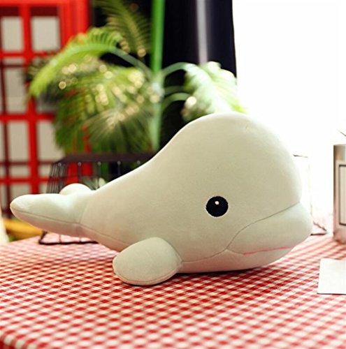 Juguete de peluche 25 cm de peluche de ballena juguete de felpa muñeca linda colgante de juguetes colección de regalo de cumpleaños para niños niñas