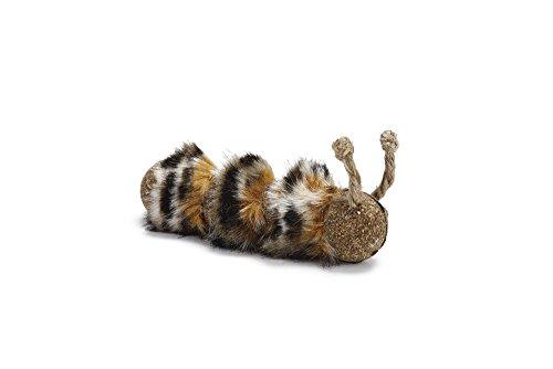 Comprimido oruga juguete de gato