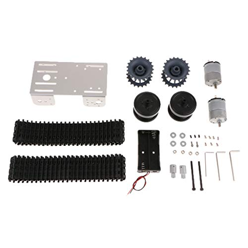 Kit de coche inteligente chasis motor robot smart diy mini tp101 inteligente tracked