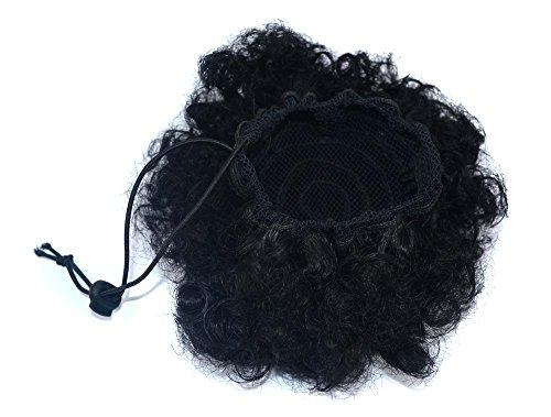 Explosive head fluffy hair bun extensión de pelo rizado caterpillar peluca de tamaño selección peluca peluca para mujeres