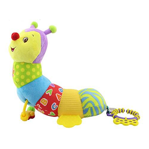 Juguetes mordedor ddg edmmssuave del bebé dientes de felpa confortables juguetes sonajeros multi-sensoriales para apaciguar a los juguetes de los niños recién nacidos