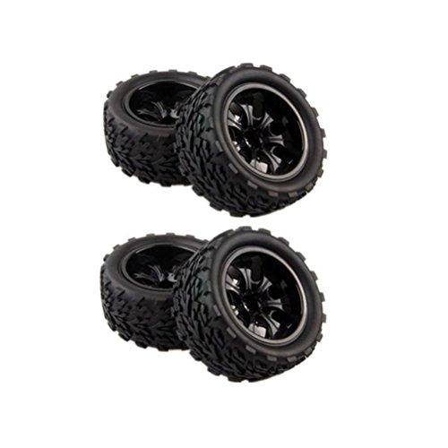 Neumáticos rc 1/10 rueda de oruga hsp 4 piezas
