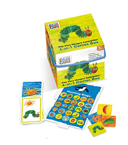 Very hungry caterpillar 4 in 1 cube game