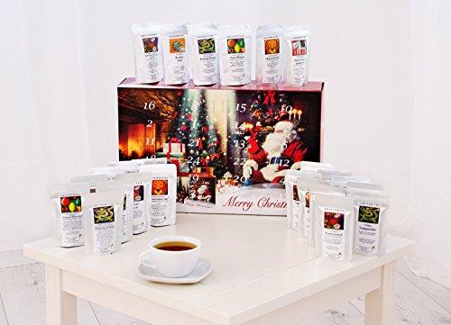 Calendario de tés con 24 tés de invierno para disfrutar en navidad