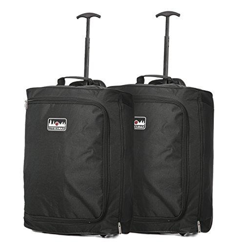 c393e534e6f Set de dos ryanair y vueling 42l maletas de cabina 55x40x20 tamaño máximo  equipaje de mano