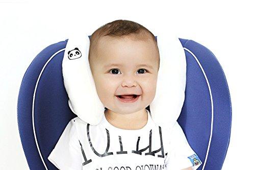 Bebé viaje almohadilla soporte para cabeza cojín cervical niños almohada de asiento de coche viaje cochecito cojín