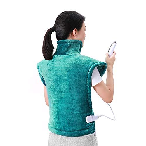 Almohadilla térmica eléctrica para la espalda