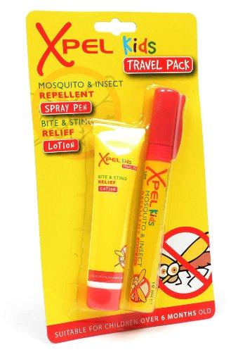 Infantil mosquito y repelente de insectos spray pen