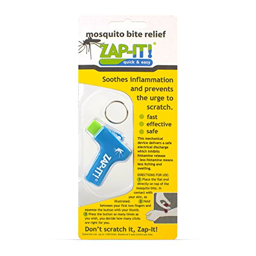 Zap-it mosquito bite relief device