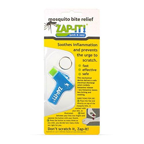 Zap-it mosquito bite relief device