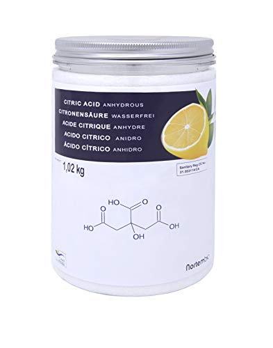 ácido cítrico 1,02 kg