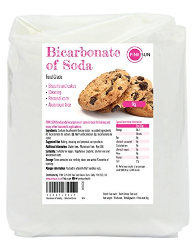 Bicarbonato de sodio 1kg alimentario grado de comida limpieza puro