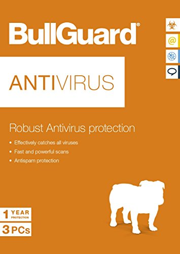 Bullguard antivirus software 3 dispositivos