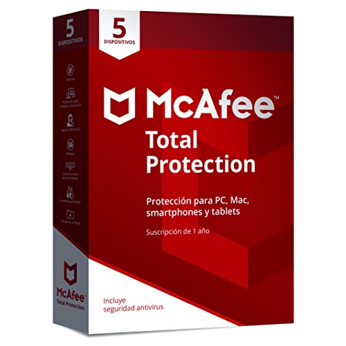 Total protection 5 dispositivos 2018