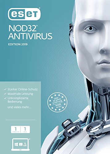 Eset nod32 antivirus 2019 edition 1 user