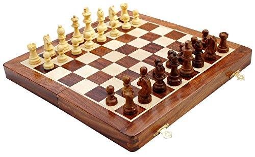 Madera ajedrez magnético