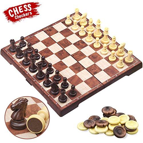 Juego de ajedrez magnético de viaje
