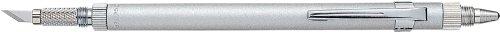 D-1000p cuchillo de soporte de aluminio arte con aguja y burnishes