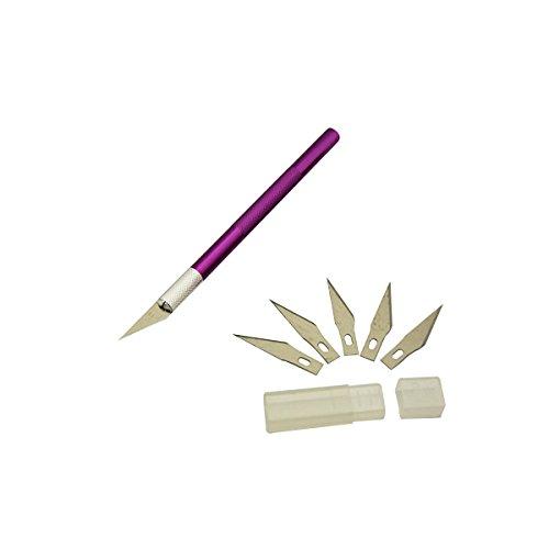 Herramientas de talla de madera de aleación de aluminio craft escultura modelado de alfarería herramienta de corte herramienta de reparación de pcb herramienta manual de bricolaje