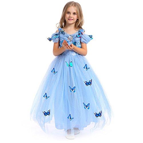 Princesa traje del vestido