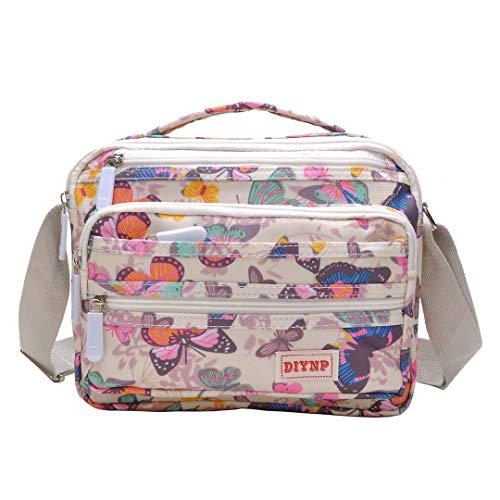 Bolsos de mujer nylon impermeable bolso bandolera bolsa para moda impermeable mochilas bolsas de viaje
